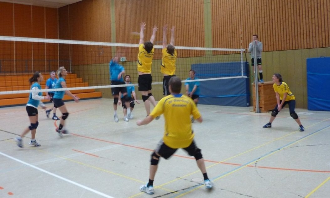 Volleys in action